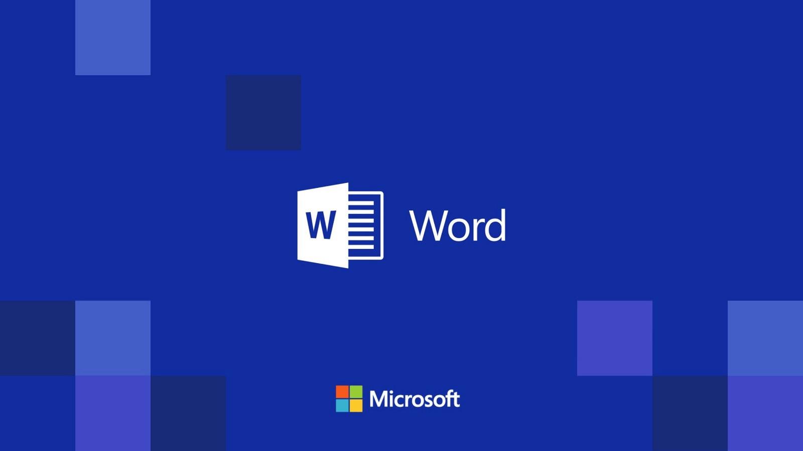 Những điều thuận tiện mà phần mềm word mang lại cho người dùng