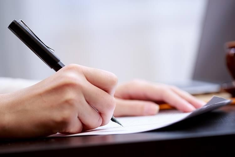 Văn phong của đơn xin cần mạch lạc, ngắn gọn