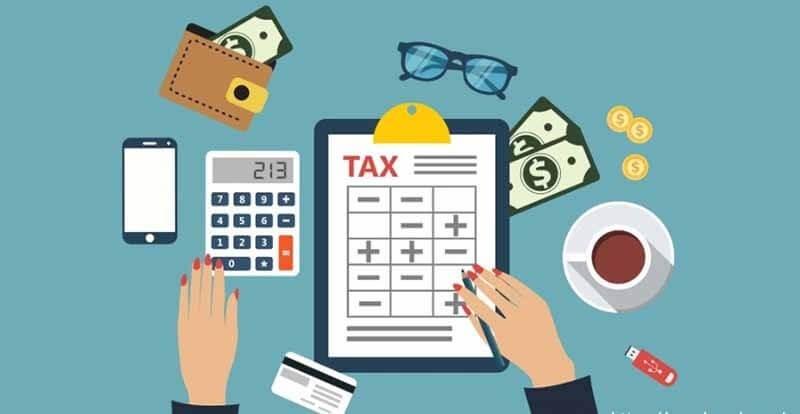 Hạch toán phí môn bài cho cục thuế hằng năm