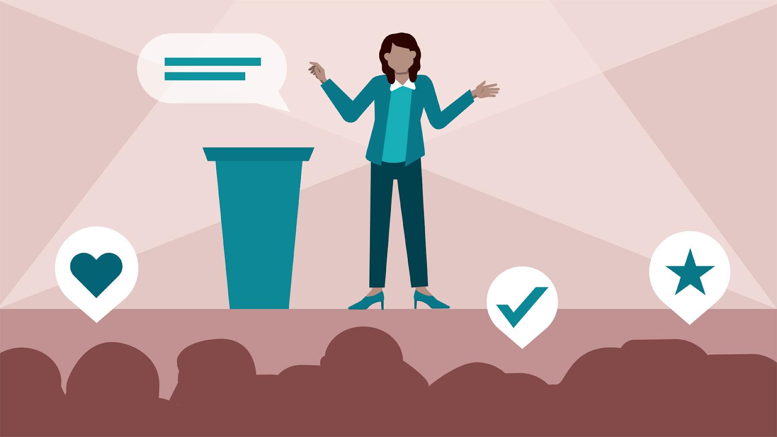 Kỹ năng thuyết trình giúp các cá nhân nâng cao cơ hội để phát triển bản thân
