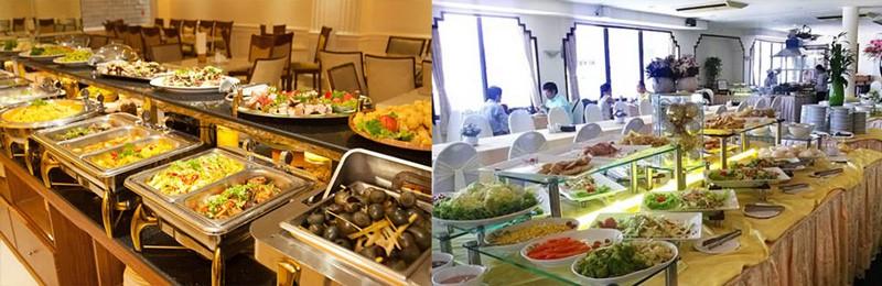 Re Vup phục vụ các bữa ăn, suất ăn trong nhà như tại các khách sạn, resort